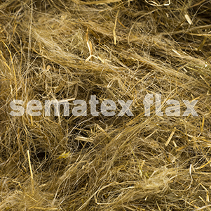 Flax.Re-scutched.tow